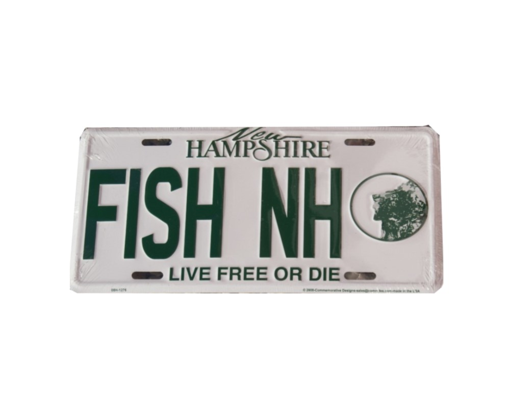 NH License Plates by Commemorative Designs