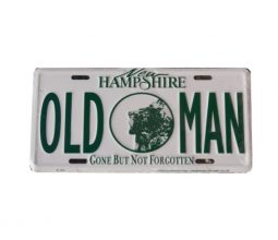 Old Man Plate
