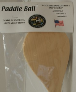 Wood Toys paddle ball