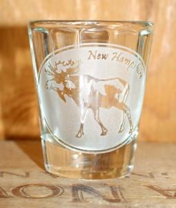 NH Moose Shot Glass