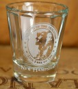 NH Old Man of the Mountains Shot Glass