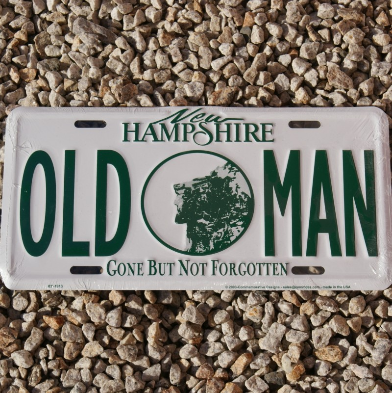 NH License Plates by Commemorative Designs | NH Made