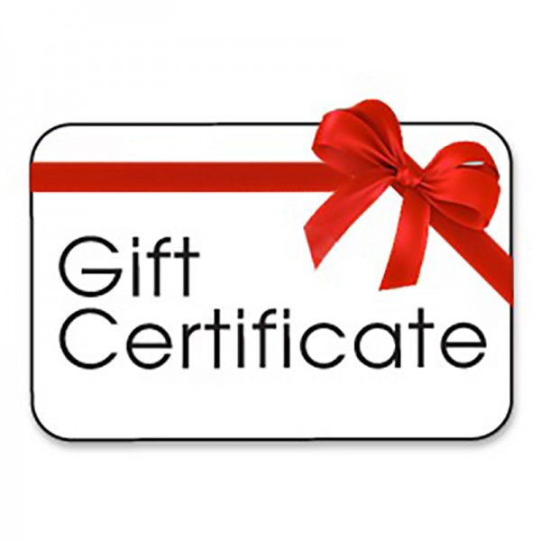 online store gift certificate