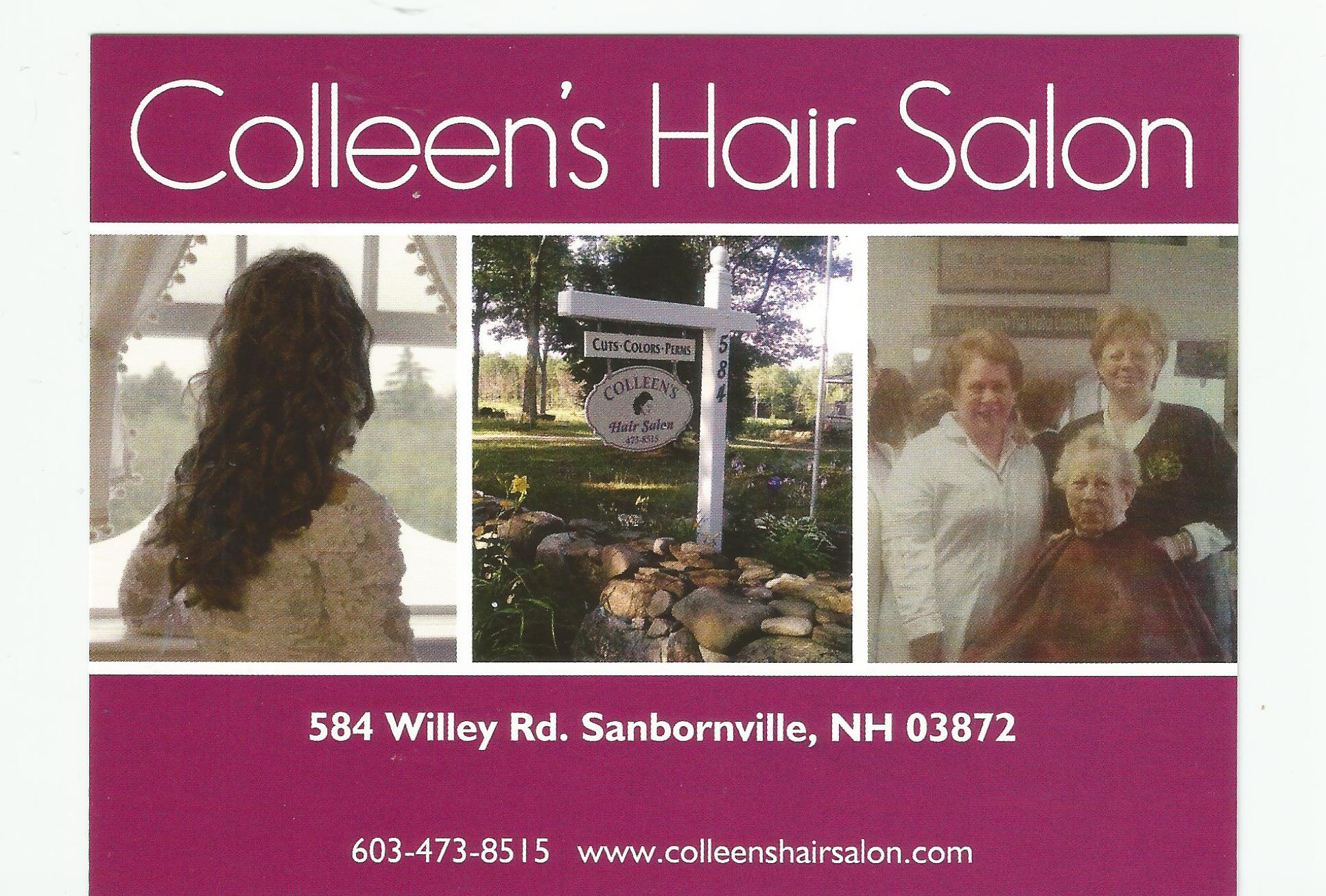 Colleen's Hair Salon & Author Lords Hill Memoir dba Colleen Bruce