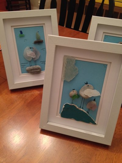 Ocean Current Art Sea Glass Creations