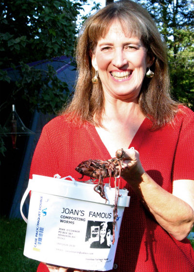 Joan's Famous Composting Worms